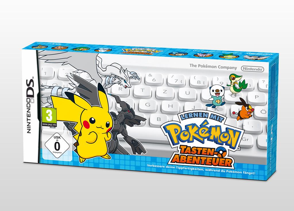 Pokémon Tastenabenteuer Verpackung